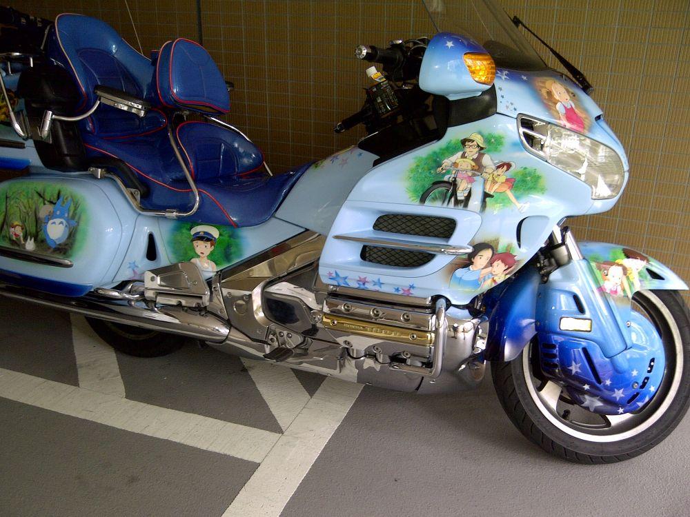Honda Goldwing Mi Vecino Totoro Custom