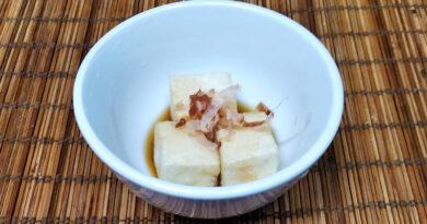 """Tofu Frito Japones """"Aguedashidofu"""""""