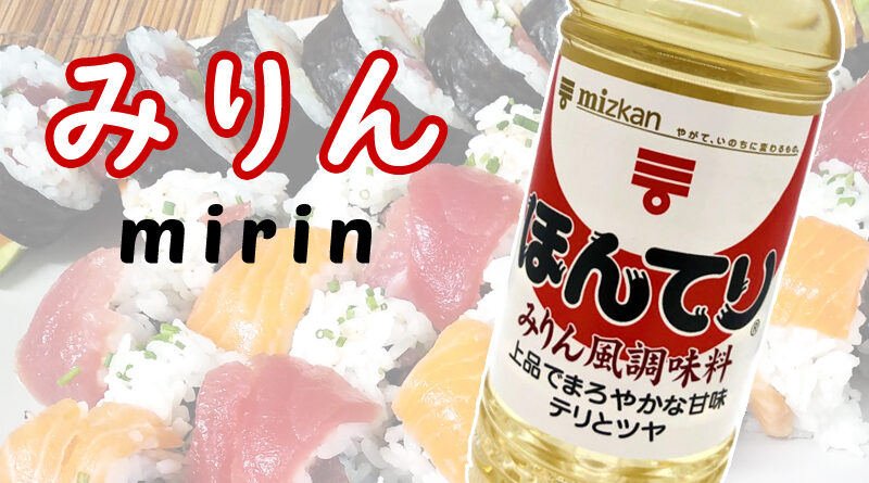 Vino de Arroz Japonés Mirin