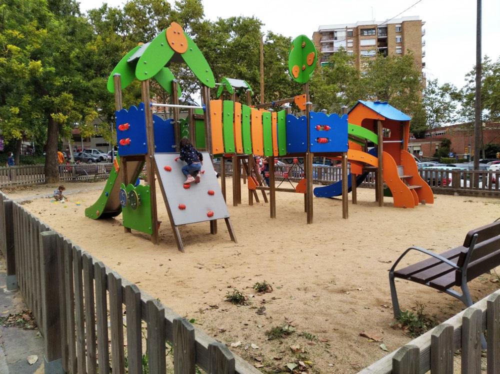 スペインの公園