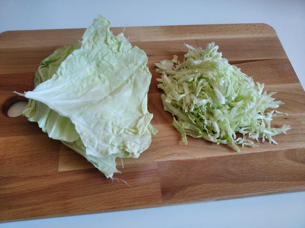 Col cortada para Okonomiyaki