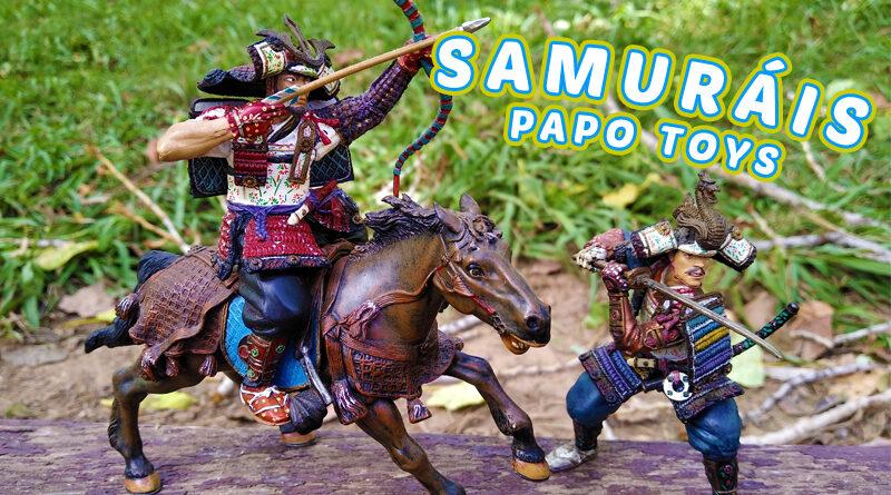Figuras Samurais Papo