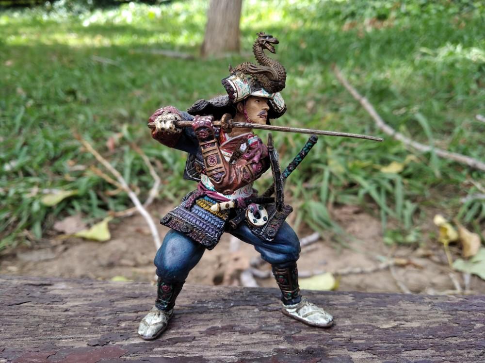 Samurai con Katana