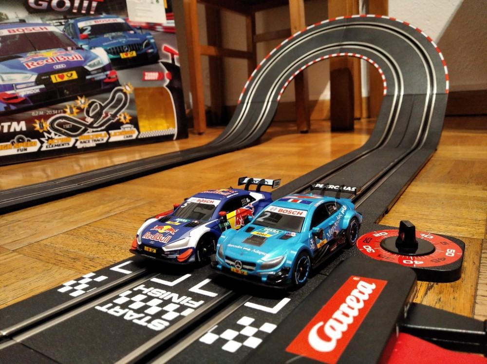 Carrera Go! En la línea de salida
