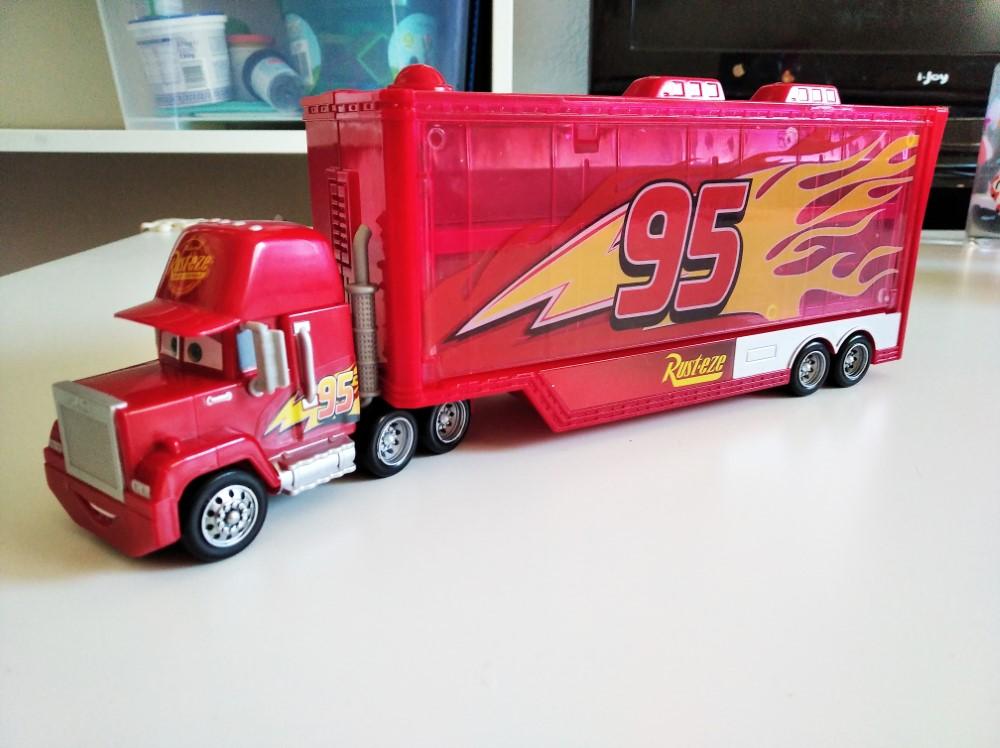 Mack Transporter- Trailer Disney Pixar Cars Mattel