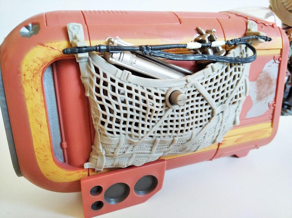 Red para el transporte de chatarra