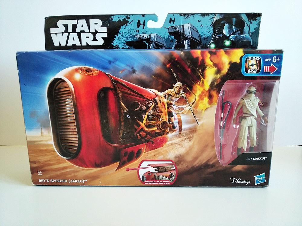 Rey's Speeder Star Wars caja frontal