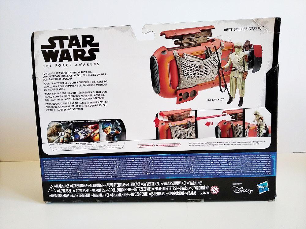 Rey's Speeder Star Wars caja trasera