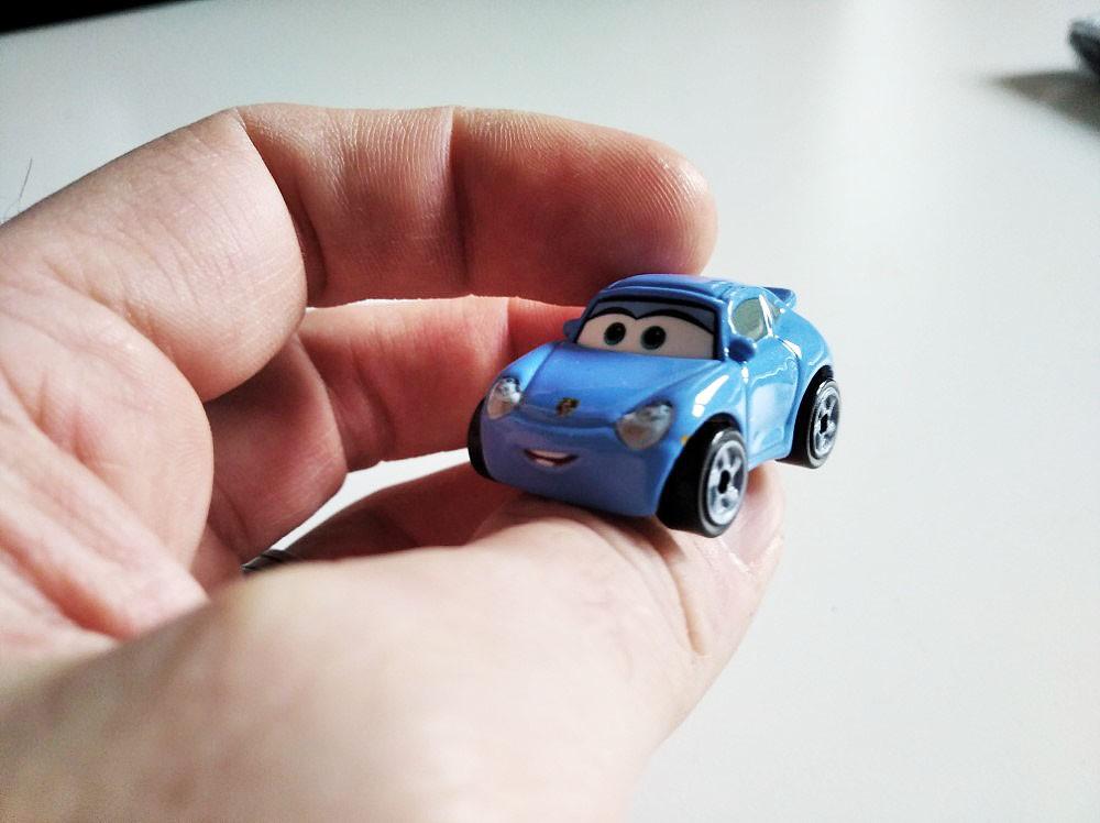 Sally Metal Mini Racers Cars Mattel