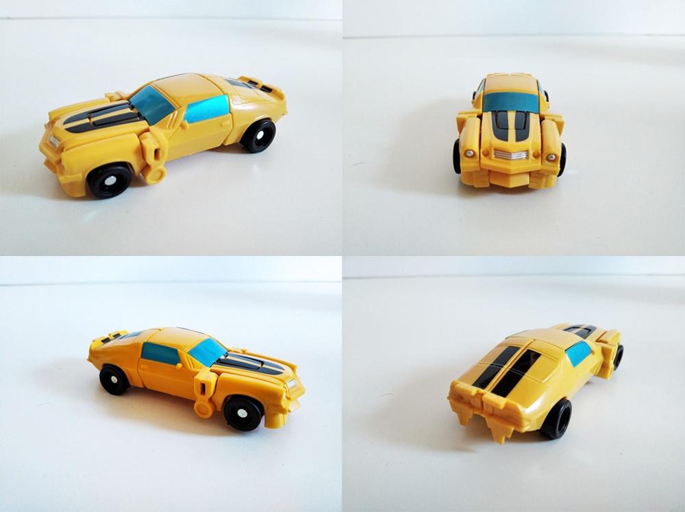 Turbo Transformer en forma vehículo