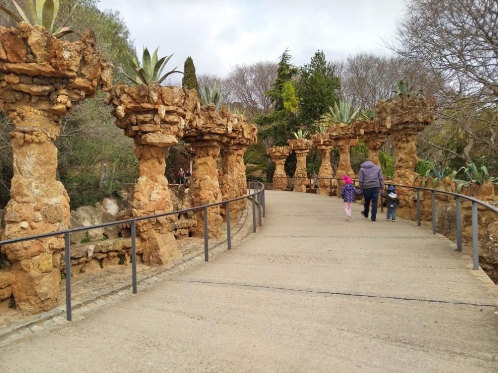 グエル公園の高架橋