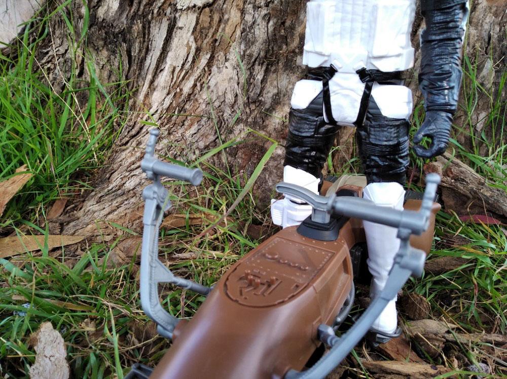 Speeder Bike with Biker Scout Star Wars Titan Hero-Hasbro 12