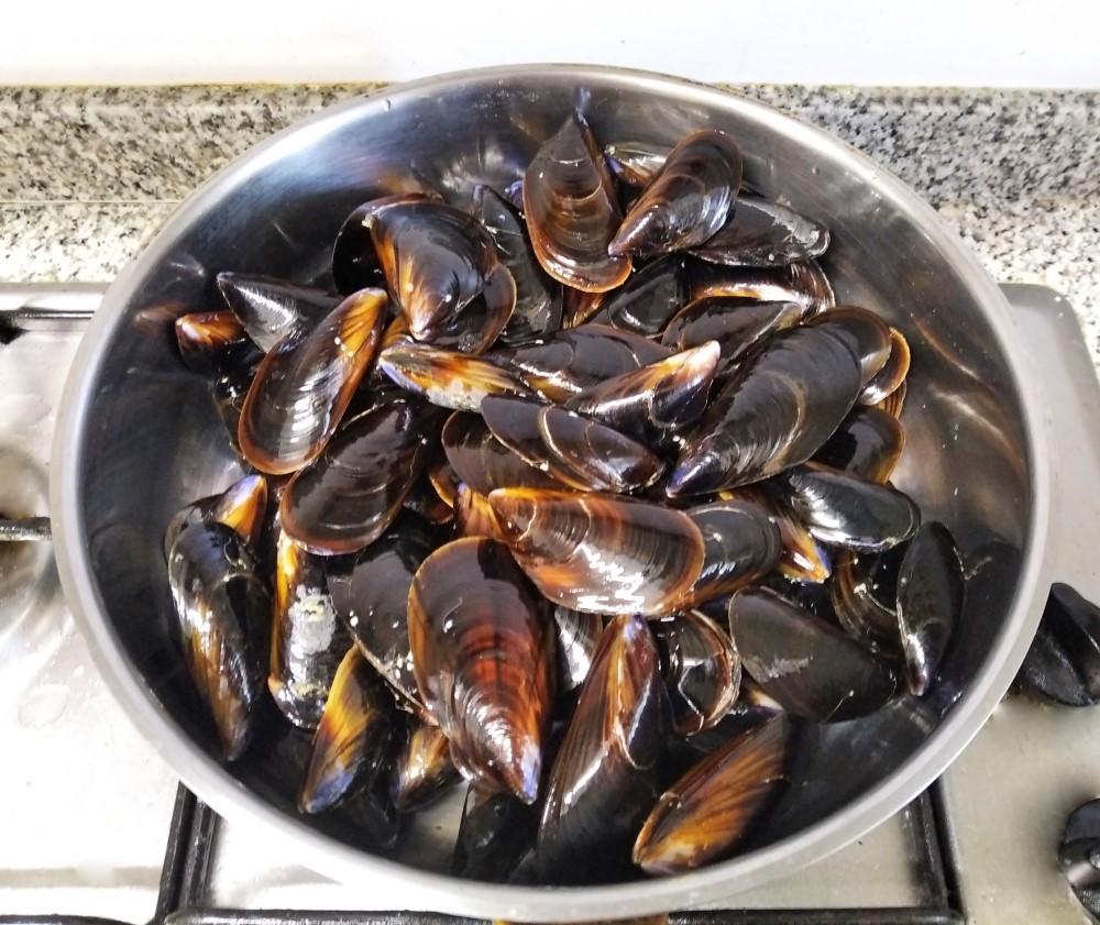 ムール貝のエスカベチェ