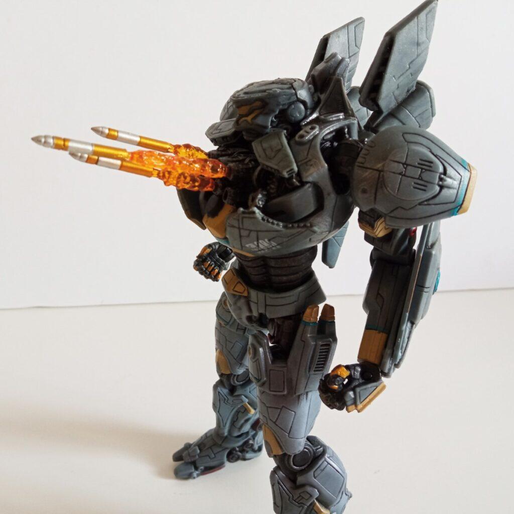 El Ultimate Striker Eureka incluye 3 cohetes con efecto de fuego que se pueden colocar en diversos orificios