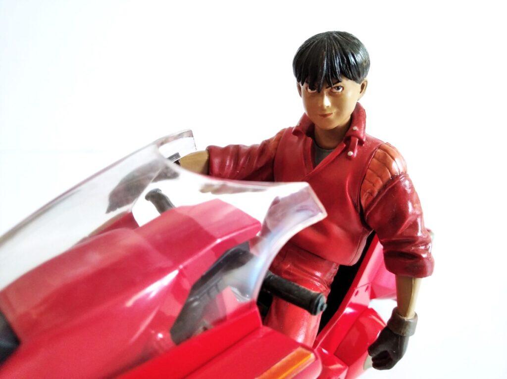 Primer plano de Kaneda