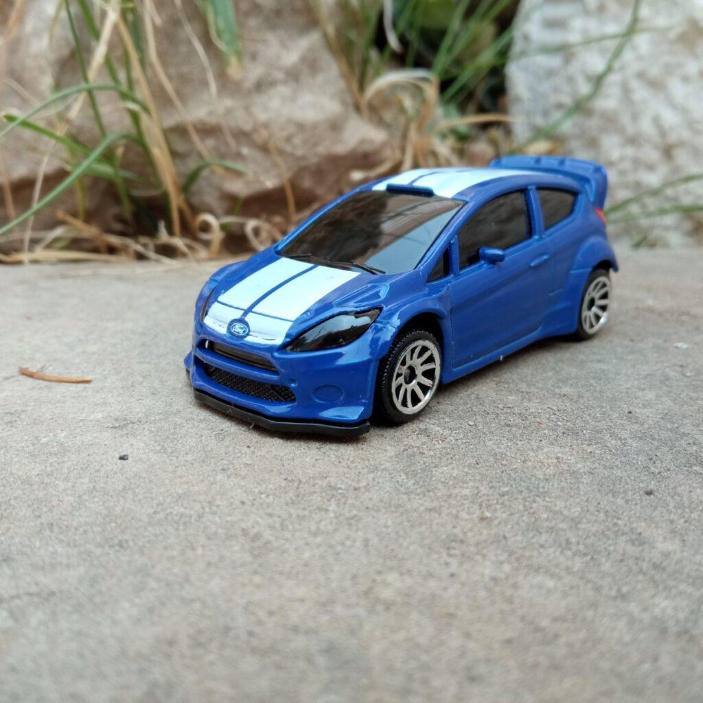Ford Fiesta WRC Metal Racing Cars de Majorette