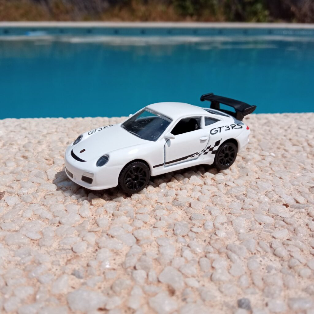 Porsche 911 GT3 Metal Racing Cars de Majorette