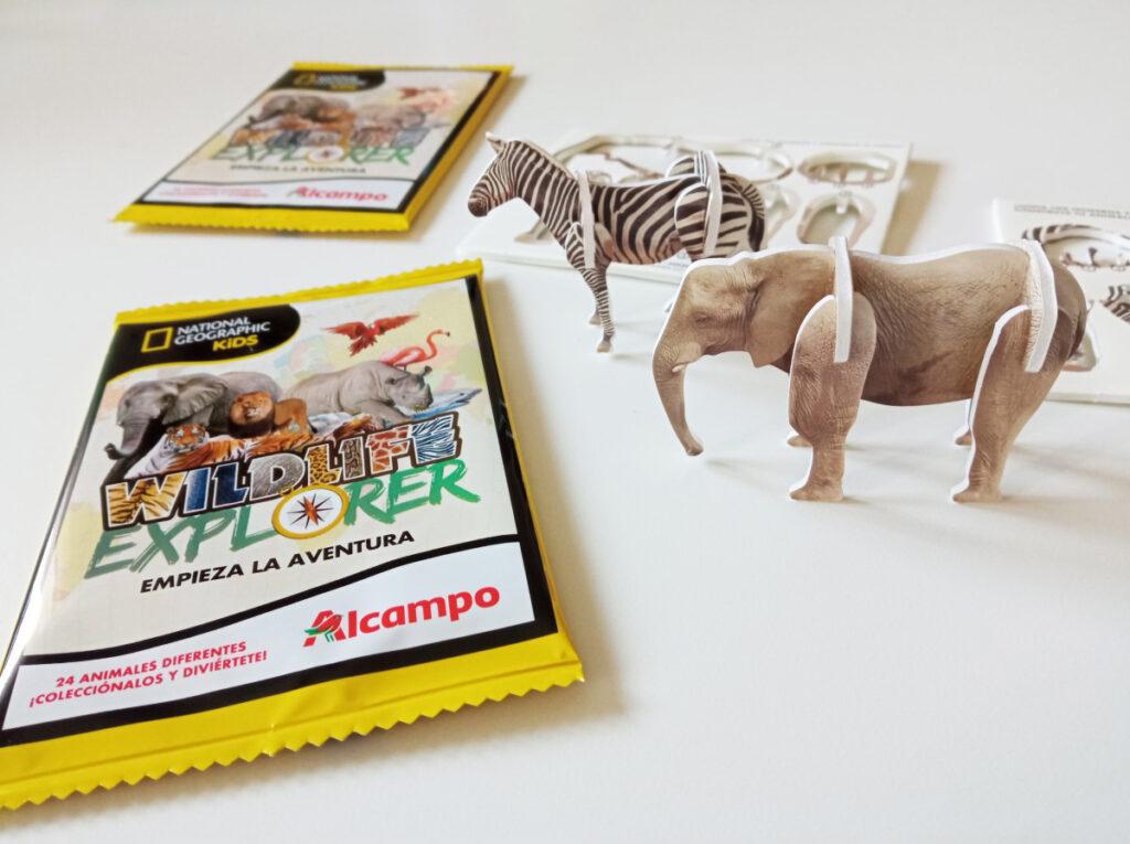 Promoción Wildlife Explorer de Alcampo y National Geographic